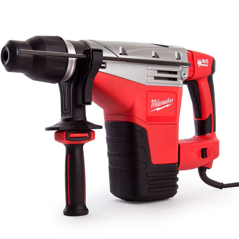 Red, Black and grey 110V large drill breaker