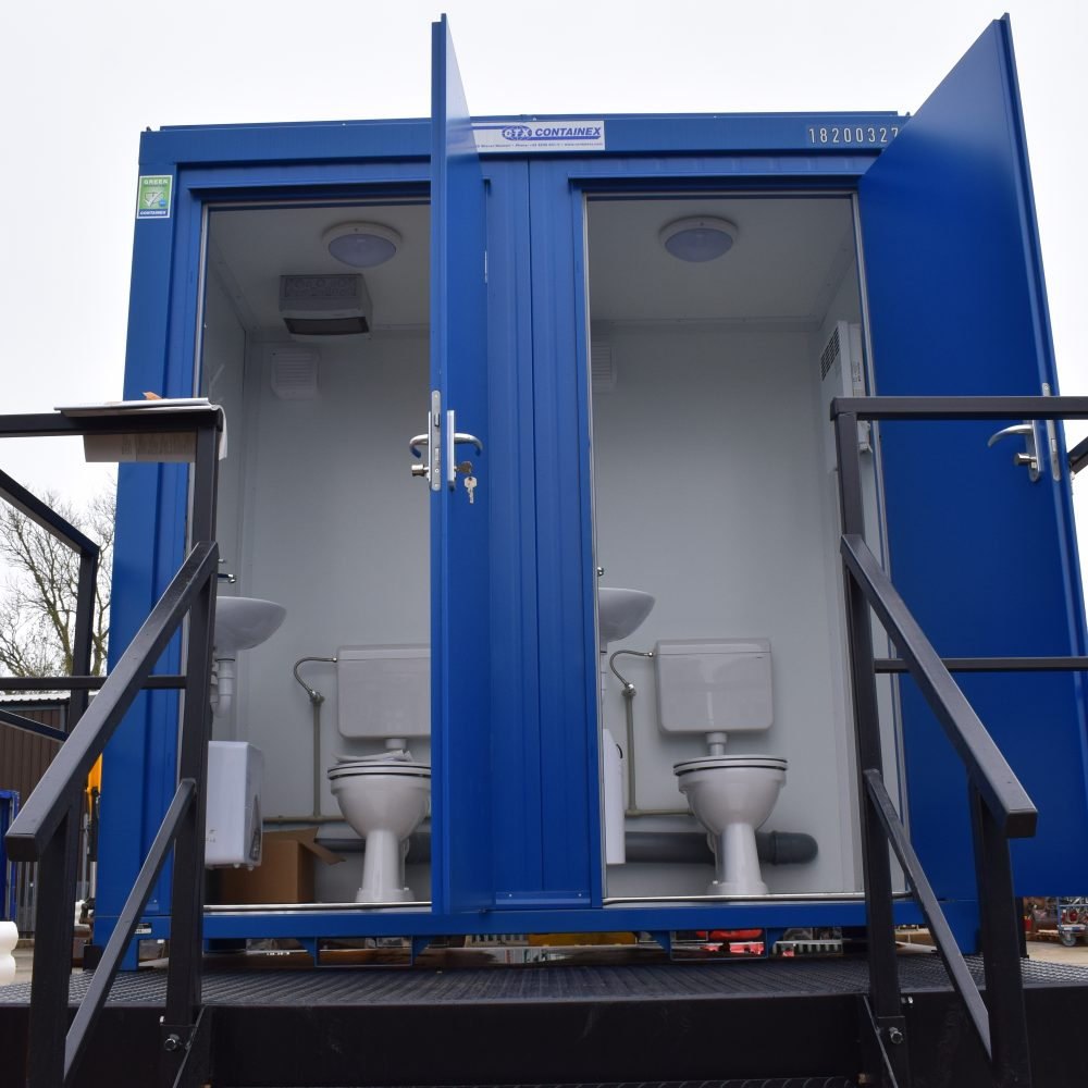 Portable Toilet Cabin for Hire